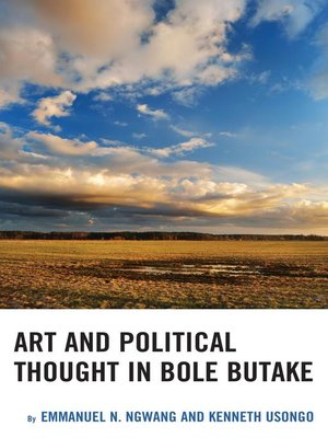 cover image of Art and Political Thought in Bole Butake