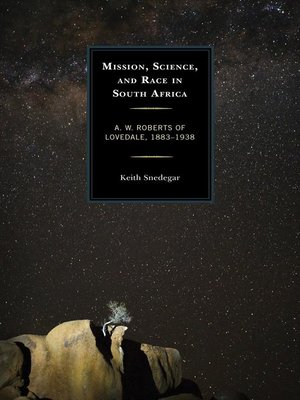 cover image of Mission, Science, and Race in South Africa