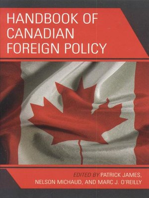cover image of Handbook of Canadian Foreign Policy