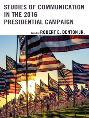cover image of Studies of Communication in the 2016 Presidential Campaign