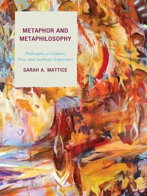 cover image of Metaphor and Metaphilosophy