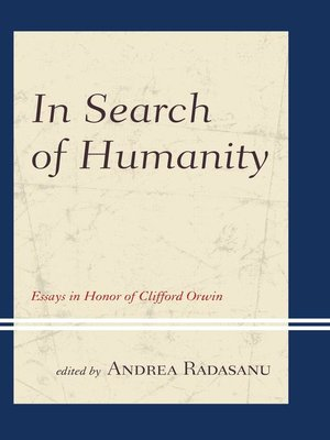 cover image of In Search of Humanity