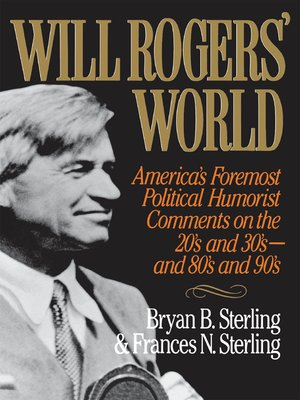 cover image of Will Rogers' World