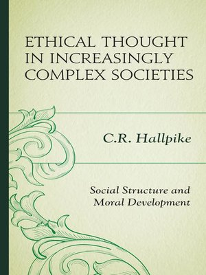 cover image of Ethical Thought in Increasingly Complex Societies
