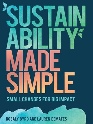 cover image of Sustainability Made Simple