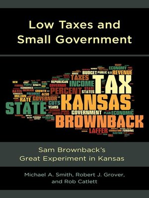 cover image of Low Taxes and Small Government