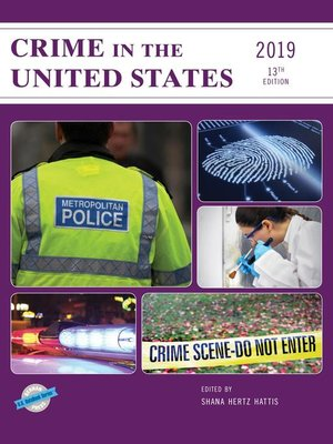 cover image of Crime in the United States 2019