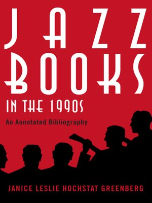 cover image of Jazz Books in the 1990s
