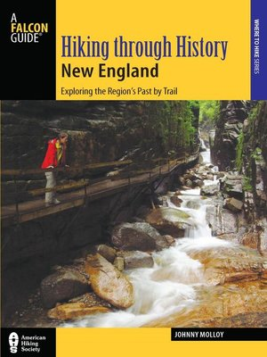 cover image of Hiking through History New England