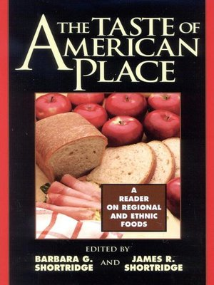 cover image of The Taste of American Place