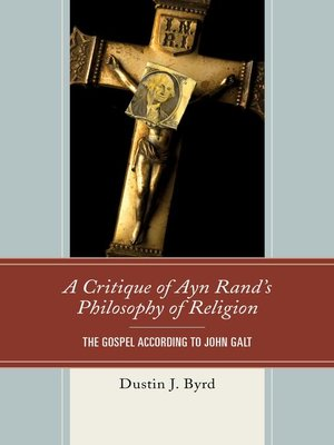cover image of A Critique of Ayn Rand's Philosophy of Religion