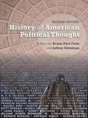 cover image of History of American Political Thought