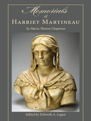 cover image of Memorials of Harriet Martineau by Maria Weston Chapman