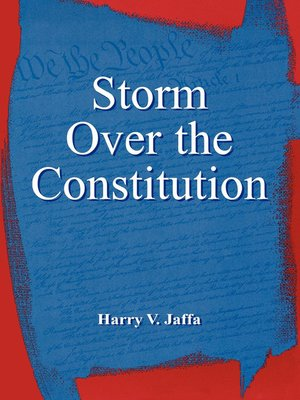 cover image of Storm Over the Constitution