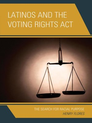 cover image of Latinos and the Voting Rights Act