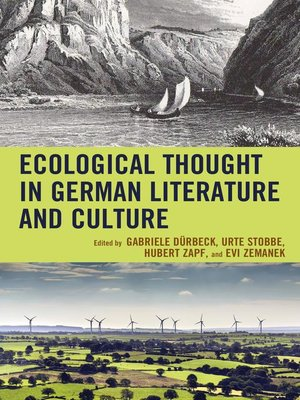 cover image of Ecological Thought in German Literature and Culture