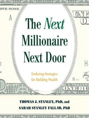the millionaire next door epub