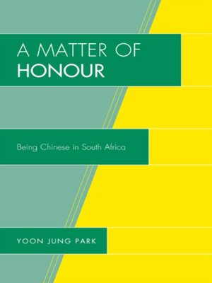 cover image of A Matter of Honour