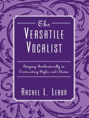 cover image of The Versatile Vocalist
