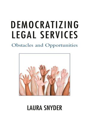 cover image of Democratizing Legal Services