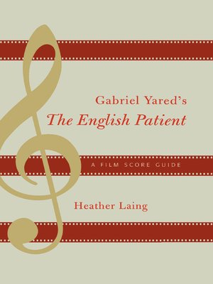 cover image of Gabriel Yared's The English Patient