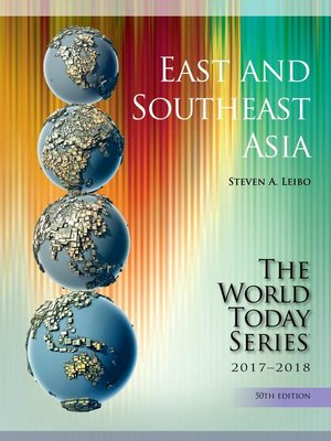 cover image of East and Southeast Asia 2017-2018