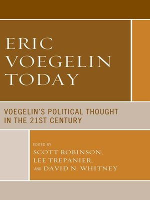 cover image of Eric Voegelin Today