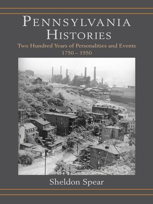 cover image of Pennsylvania Histories