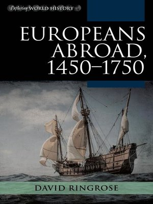 cover image of Europeans Abroad, 1450–1750