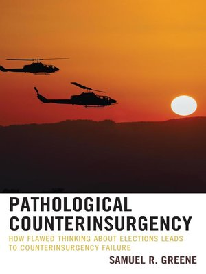 cover image of Pathological Counterinsurgency