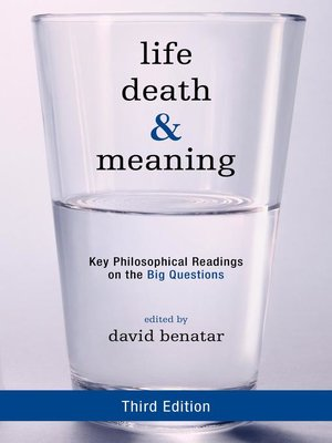 cover image of Life, Death, and Meaning