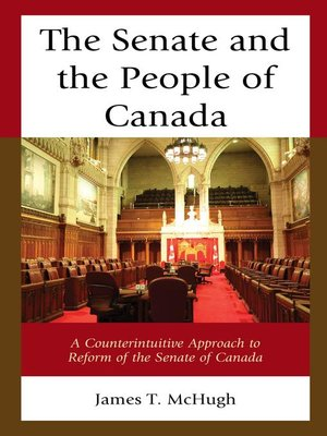 cover image of The Senate and the People of Canada