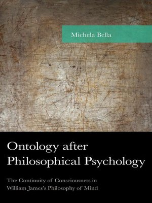 cover image of Ontology after Philosophical Psychology