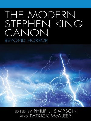 cover image of The Modern Stephen King Canon