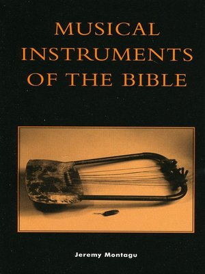 cover image of Musical Instruments of the Bible