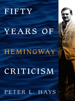 cover image of Fifty Years of Hemingway Criticism