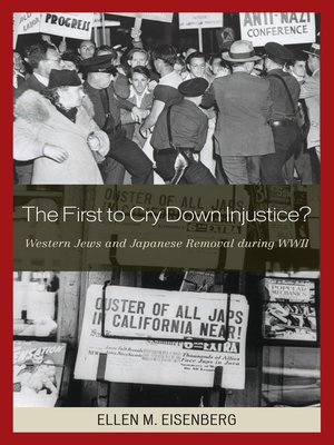 cover image of The First to Cry Down Injustice?