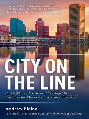 cover image of City on the Line