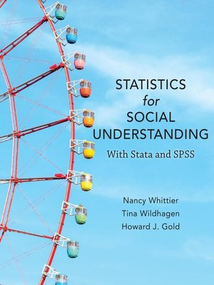 cover image of Statistics for Social Understanding