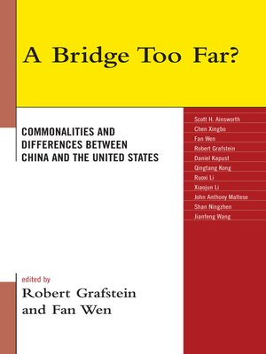 cover image of A Bridge Too Far?
