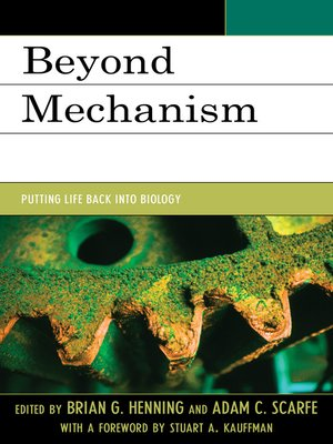 cover image of Beyond Mechanism