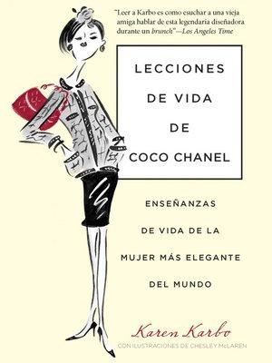 cover image of Lecciones de Vida de Coco Chanel