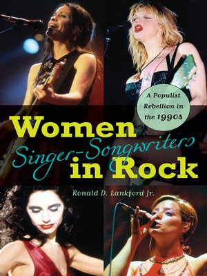 cover image of Women Singer-Songwriters in Rock