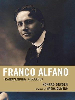 cover image of Franco Alfano