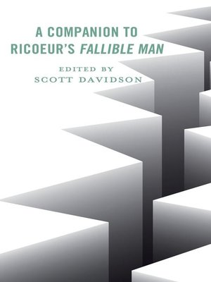 cover image of A Companion to Ricoeur's Fallible Man
