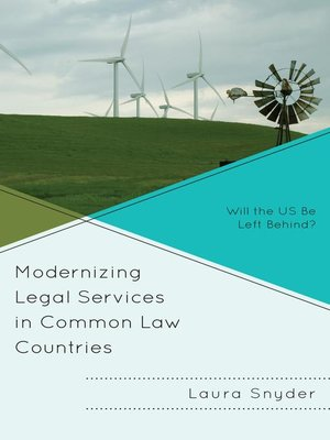 cover image of Modernizing Legal Services in Common Law Countries