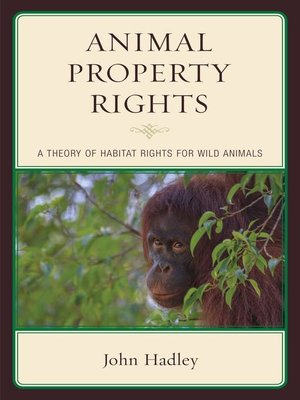 cover image of Animal Property Rights