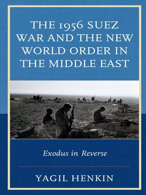 cover image of The 1956 Suez War and the New World Order in the Middle East
