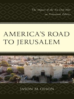 cover image of America's Road to Jerusalem