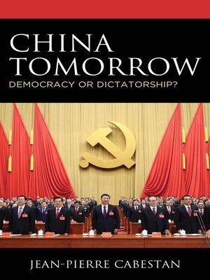 cover image of China Tomorrow